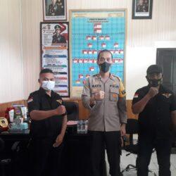 Pers Pelopor Wiratama Jalin Silaturahmi Dengan Kapolres SBB